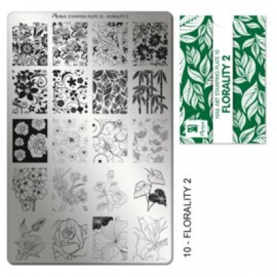 stamping plate 10 Florality 2
