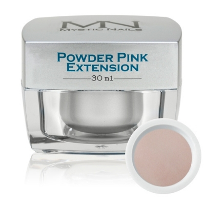 acryl powder pink extension (cover)