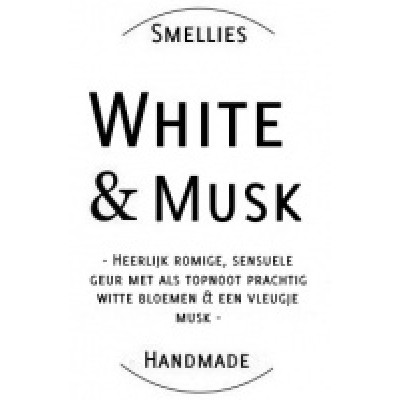geurkaars white and musk