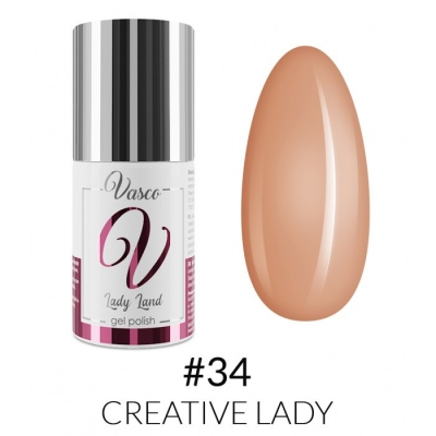 Vasco Gel Polish 034 Creative Lady
