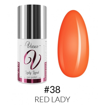 Vasco Gel Polish 038 Red Lady