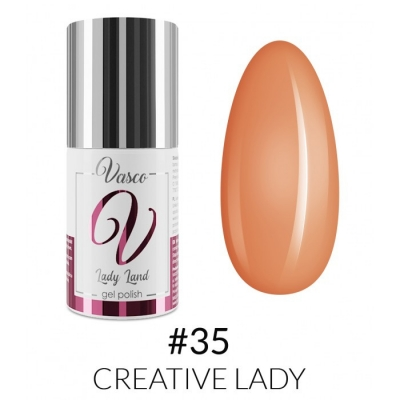 Vasco Gel Polish 035 Creative Lady