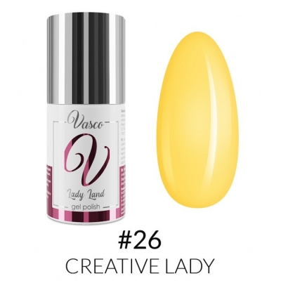 Vasco Gel Polish 026 Creative Lady