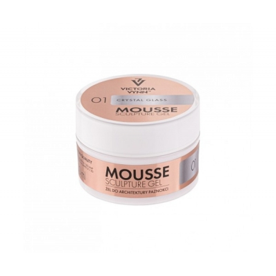 Mousse Gel 01 Crystal Glass